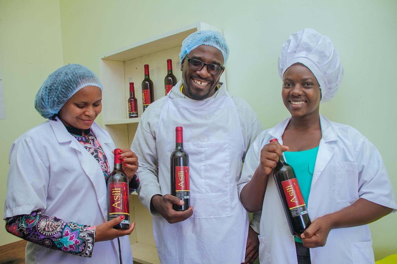 UPENDO NDUMBALO <br> Director of Asili Wine