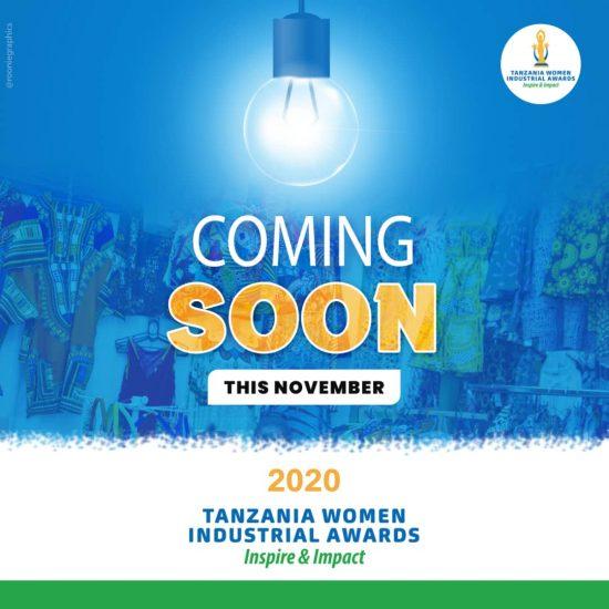 TUZO ZA VIWANDA KWA WANAWAKE WAJASIRIAMALI TANZANIA 2020